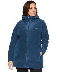Columbia - Plus Size Benton Springstm Ii Long Hoodie (charcoal Heather) Women's Sweatshirt - Lyst