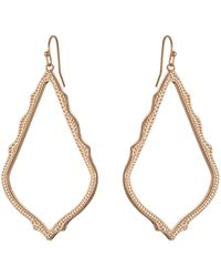 Kendra Scott - Sophee Earring (gold Metal) Earring - Lyst