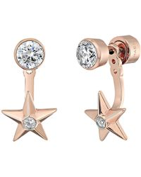 Michael Kors | Brilliance Star Front And Back Drop Earrings | Lyst