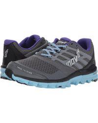 Inov-8 - Trailtalon 275 (grey/blue/purple) Women's Running Shoes - Lyst