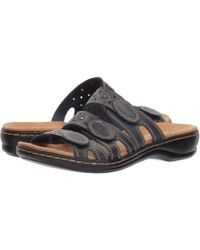 Clarks - Leisa Cacti Slide Sandal - Lyst
