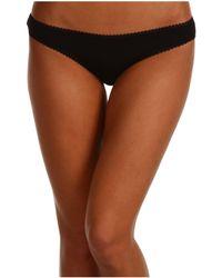 On Gossamer - Cabana Cotton Hip Bikini 1402 - Lyst