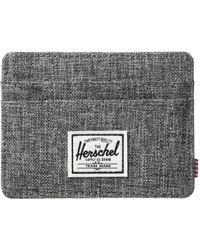 Herschel Supply Co. - Charlie Rfid (kelp/vermillion Orange) Wallet Handbags - Lyst