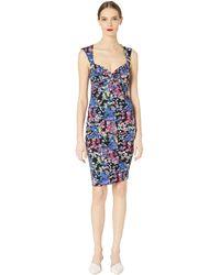Nicole Miller - Hanging Flowers Sweetheart Dress (multicolor) Women's Dress - Lyst