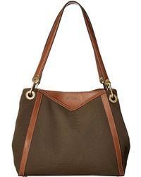 fbc8c139fcb6 MICHAEL Michael Kors - Raven Large Pocket Shoulder Tote (olive) Tote  Handbags - Lyst