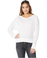 For Better Not Worse - Nap Tomorrow Bat Long Sleeve T-shirt (white) Women's T Shirt - Lyst