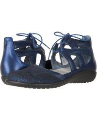 cb1fc5d2363 Naot - Kata (violet Nubuck bordeaux Leather toffee Brown Leather) Women s  Shoes