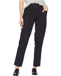 Kenneth Cole - Zip Front Pants (black) Women's Casual Pants - Lyst