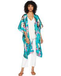 Steve Madden - Asian Floral Print Kimono - Lyst