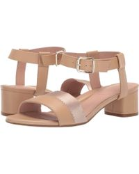 bb35ecd587a8 Taryn Rose - Makena (buff Leather) Women s Sandals - Lyst
