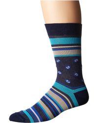 Etro - Bold Striped Socks - Lyst