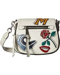 Marc Jacobs | Mj Collage Small Nomad Saddle Bag | Lyst