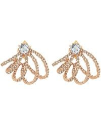 Alexis Bittar | Crystal Lace Orbiting Post Earrings | Lyst