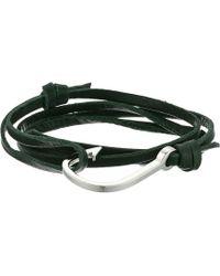 Miansai | Hook On Leather Bracelet | Lyst