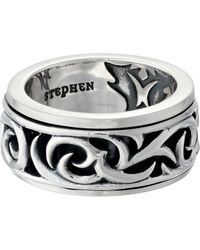Stephen Webster | Thorn Rotating Band Ring | Lyst