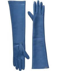 Ferragamo - 360651 Gu Nap.str Gloves - Lyst