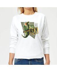 a0a6cc64200 Disney Toy Story Half Doll Half-spider Sweatshirt in White - Lyst
