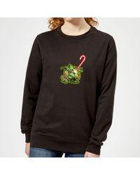 Star Wars - Candy Cane Yoda Christmas Sweatshirt - Lyst