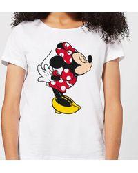 Disney - Mickey Mouse Minnie Split Kiss T-shirt - Lyst