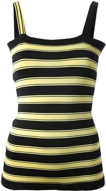 Emanuel Ungaro Striped Vest Top - Lyst