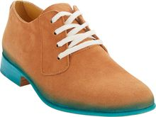 Esquivel Handpainted Suede Derbys - Lyst