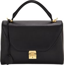 Mark Cross Large Scottie Satchel - Lyst