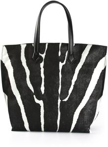 Fendi Printed Shopper - Lyst