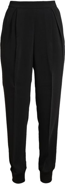 Giambattista Valli Tailored Crepe Trousers - Lyst