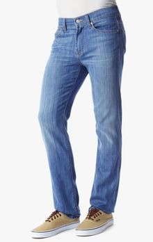 7 For All Mankind Slimmy Slim Straight - Lyst