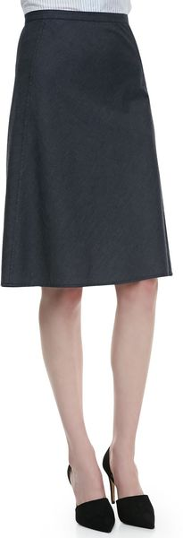 Theory Lonai D Kneelength Skirt - Lyst