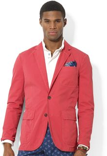 Ralph Lauren Polo Hampton Chino Sport Coat - Lyst