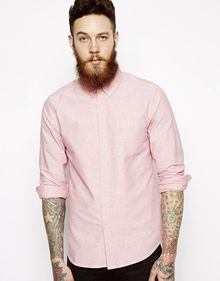 Asos Oxford Shirt in Long Sleeve - Lyst