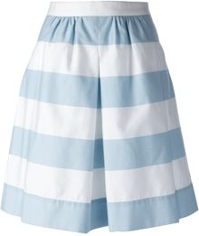 Moschino Cheap & Chic Striped Skirt - Lyst