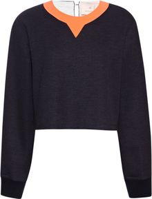 Roksanda Ilincic Navy Langston Top - Lyst
