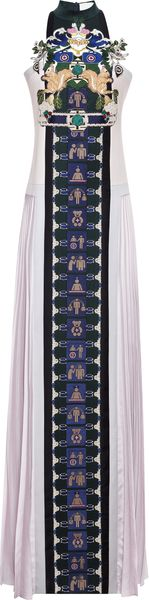 Mary Katrantzou Stepa Embroidered Dress - Lyst