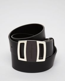 Ferragamo Sardegna Leather Belt - Lyst