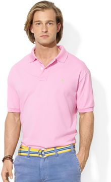 Ralph Lauren Polo Customfit Stretchmesh Polo Shirt - Lyst