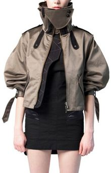 Eudon Choi Cotton Satin Jacket - Lyst