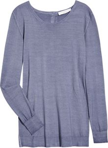Stella McCartney Buttoned-back Wool Sweater - Lyst