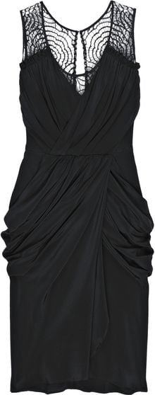Thurley Hidden Secret Silk Dress - Lyst