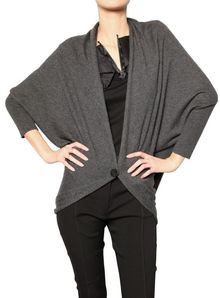 Lanvin Wool Knit Bolero Sweater - Lyst