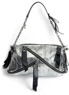 Christian Louboutin Trophe Medium Watersnake Bag - Lyst
