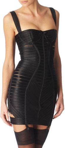 Bordelle Angela Girdle Dress - Lyst