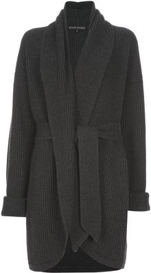 Ralph Lauren Ribbed Cardigan - Lyst
