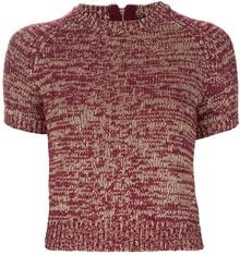 Marc By Marc Jacobs Short Sleeve Sweater - Lyst