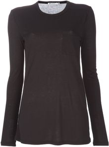 Alexander Wang Long Sleeved Top - Lyst
