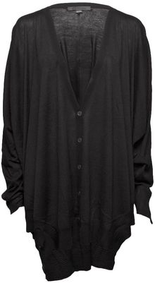 Alexander Wang Split-back Cardigan - Lyst