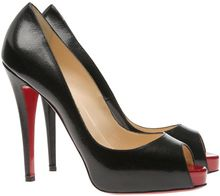 Christian Louboutin Very Prive Peep-toe Court Shoes - Lyst