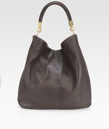 Saint Laurent Ysl Large Leather Roady Hobo - Lyst