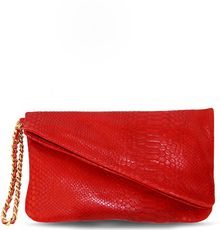 Julie K Handbags Callie in Red Cobra - Lyst